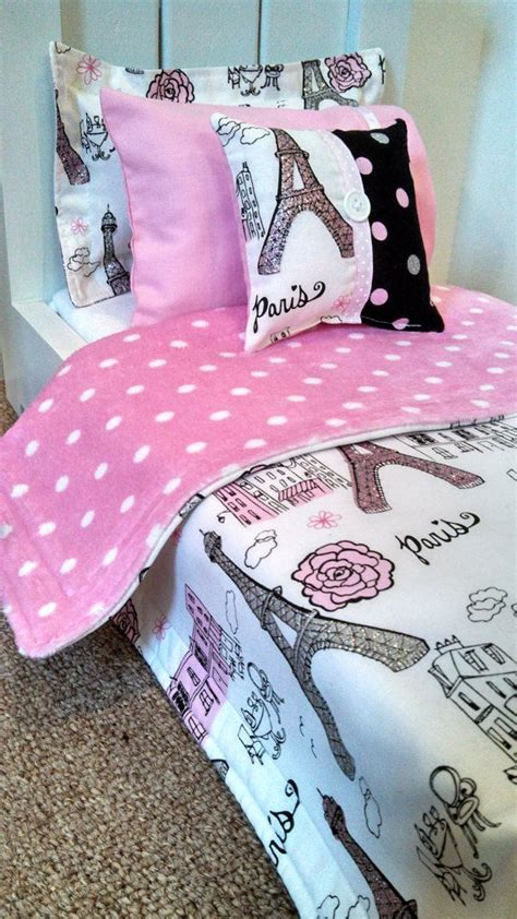 american girl bedding american girl bedding paris print 5 piece bedding set for 18 quot dolls