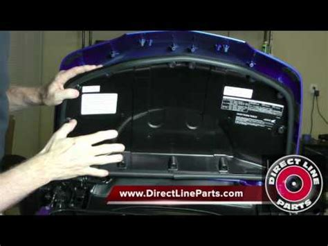 how to install a spoiler on a honda goldwing gl1800 pt 2