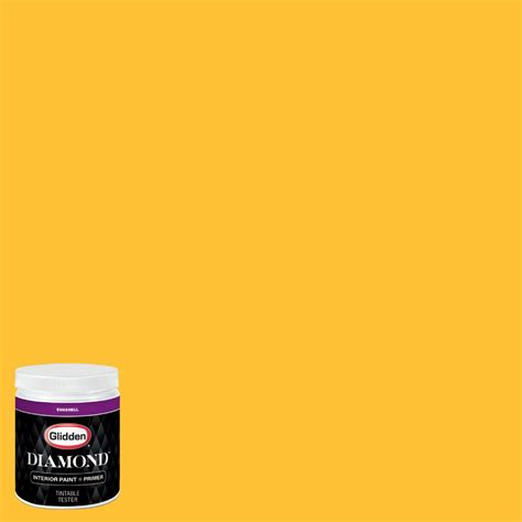 glidden premium 8 oz nfl 080d minnesota vikings gold eggshell interior paint with primer