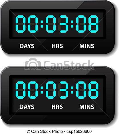 Digital Count Timer Jp9913 カウンター タイマー 秒読み 白熱 ベクトル デジタル ベクトル 白熱 デジタル カウンター csp15828600のベクタークリップアート クリップ