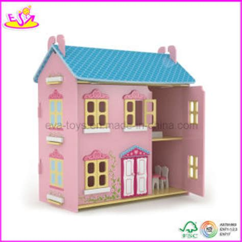 wood doll house for sale china 2014 funny wooden doll house toy fashion new wooden diy model miniature doll