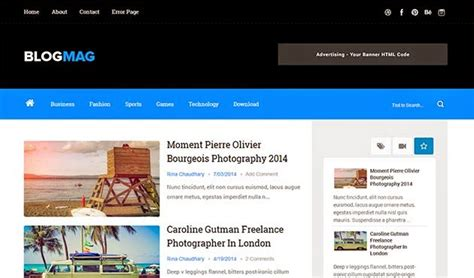 templates blogger responsive 2014 blogmag clean responsive blogger template themexpose