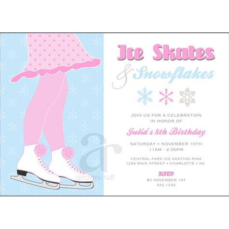 skating invitations templates best photos of skating invitation templates