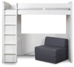 High Sleeper Bed With Futon Media High Sleeper With Futon Modern Beds By Next