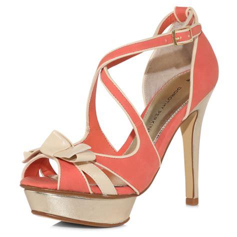 coral platform sandals from dorothy perkins gt shoeperwoman