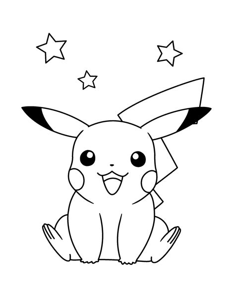 pikachu face coloring pages coloriage pikachu les beaux dessins de dessin anim 233 224