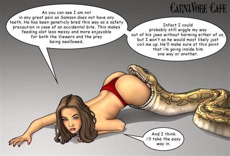 Vore Samson The Snake Adultgirlpic