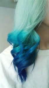 blue colored hair ultimate blue ombre hair dye set 6 shades