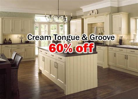 tongue and groove kitchen cabinets cream tongue and groove kitchen
