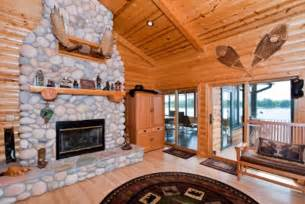 cabin decorating ideas casual cottage