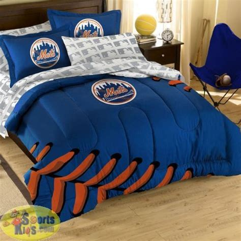 baseball bedding full northwest new york mets full comforter bed in a bag set