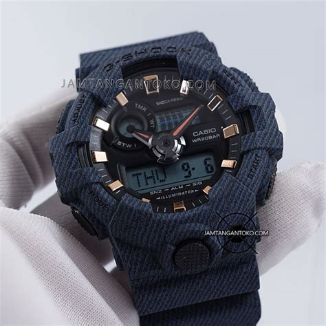 Jam Tangan Guess Denim Blue harga sarap jam tangan g shock ga 700de 1a denim
