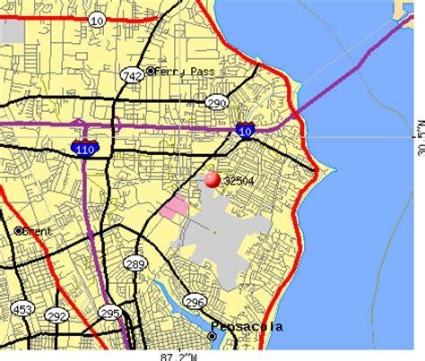 zip code map pensacola fl 32504 zip code pensacola florida profile homes
