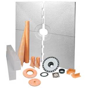 shop schluter systems kerdi brushed nickel styrene shower
