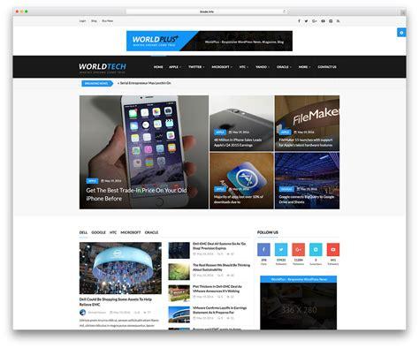 templates for website wordpress top 57 news magazine wordpress themes 2018 colorlib
