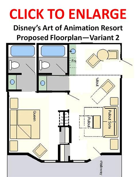 art of animation family suite floor plan disney s art of animation resort hotel page 18 the dis