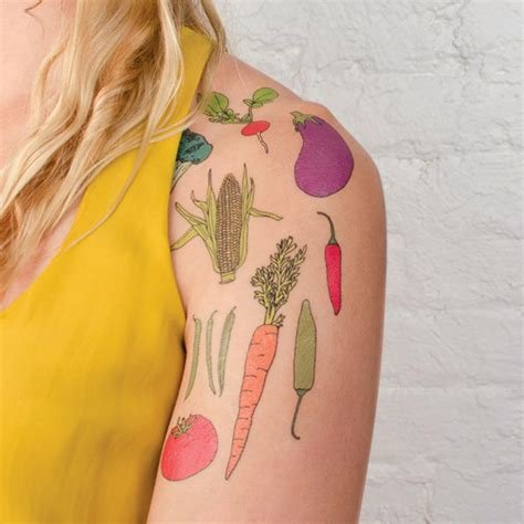 vegetable tattoo pinterest vegetable lover tattoos urban gardens