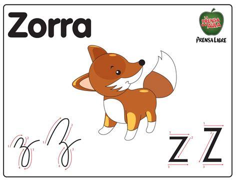 Imagenes De Animales Con Z | abecedario letra z el universo de leo