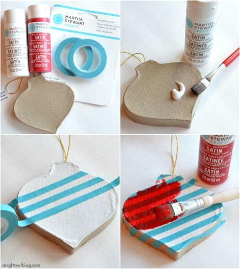 Handmade Easy Crafts - easy ornament ideas with martha stewart crafts