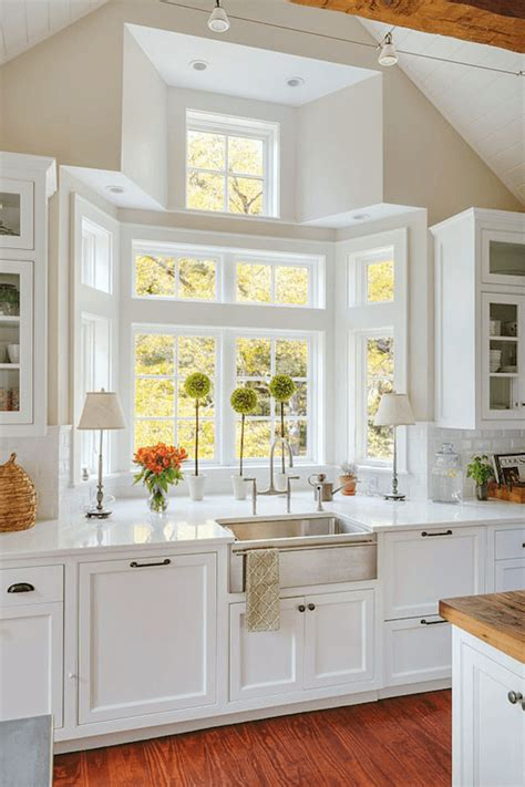 kitchen bay window new kitchen pinterest kitchen bay a crazy bay window story tons of tips to get a