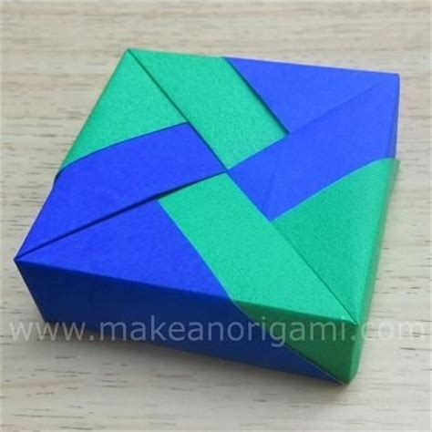 Origami Square Box - 10 best images about origami on cats origami
