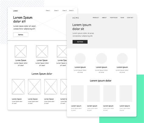 guide  website wireframe design justinmind