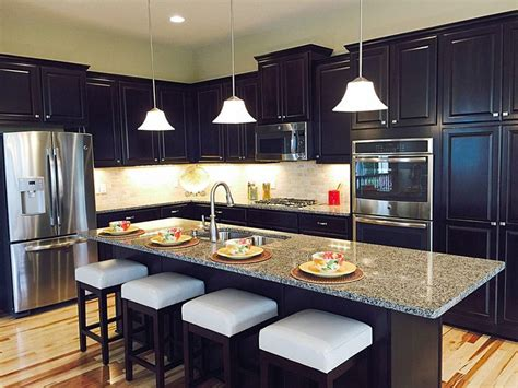 dr horton kitchen cabinets best of the bailey floor plan now these are the kind of dark stained cabinets that will