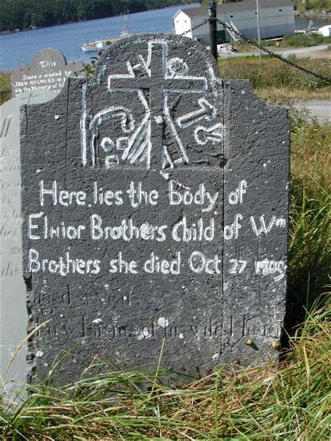 what is the oldest stonepics oldest headstones newfoundland canada cemeteries genealogy headstone