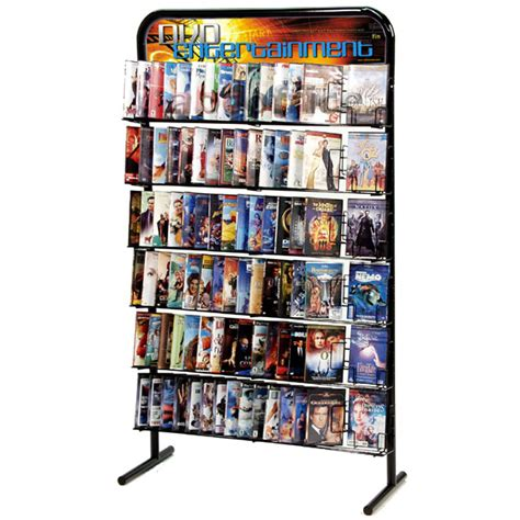 dvd racks 90 pocket wall dvd rack free shipping abc office