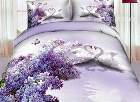 Sprei Set Swan In Violet King Size Ukuran 180 X 200 1 11 best bedding images on bedspreads comforters and bed covers