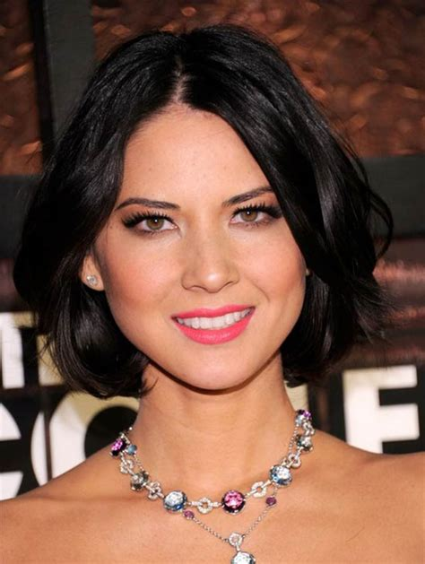 top  olivia munn hairstyles haircuts celebrity