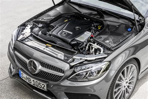 mercedes c class engine and drive system