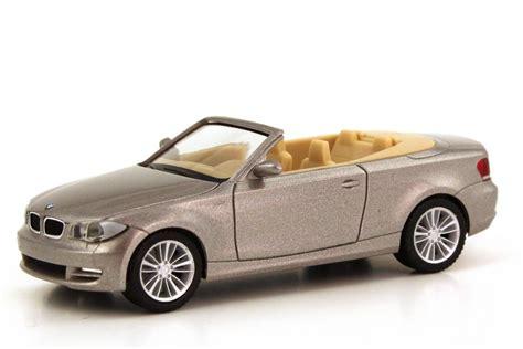 Bmw 1er Cabrio Modellauto by Bmw 1er Cabrio E88 Cashmeresilber Met Werbemodell Herpa