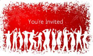 you re invited to our christmas party drive fitness
