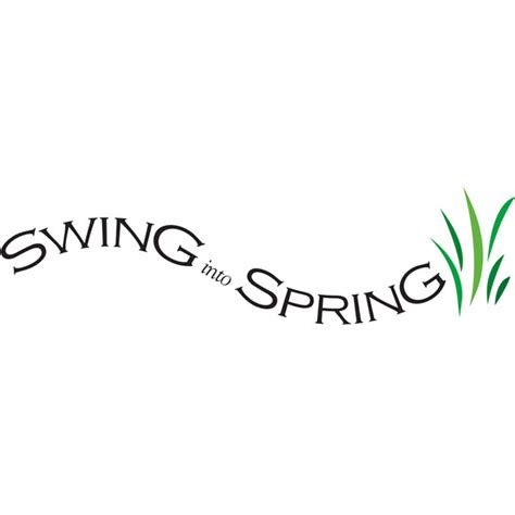 swing into spring swing into spring indigraphics design