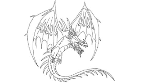 How To Train Your Dragon Coloring Pages Skrill Baby Ariel
