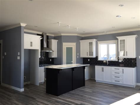 Signature Kitchens And Baths by Two Tone Kitchen Wood Stain And Painted Finish Signature Kitchens And Baths