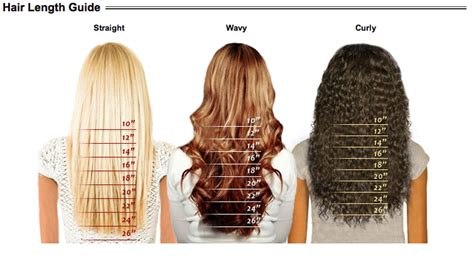 Hair Color Type by Texture Color Chart Weave