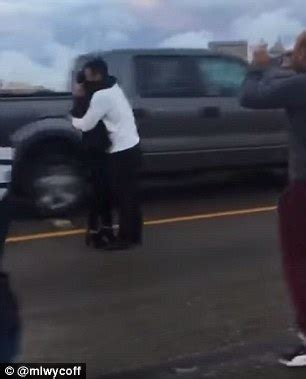 video shows a houston man proposing in the middle of a
