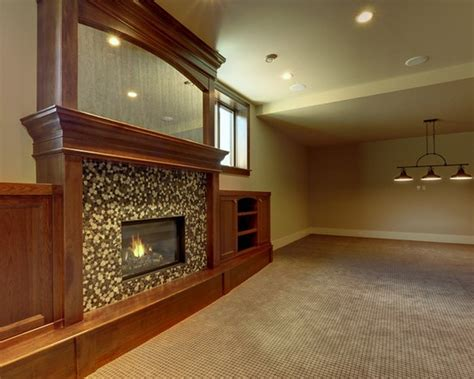 basement fireplace ideas basement ideas