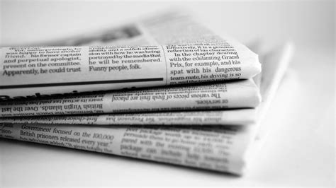 A News Paper - newspaper meaning about newspaper