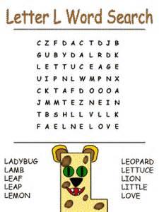 Alphabet ideas the letter l activities