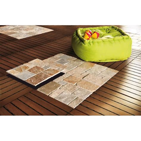 Dalles Clipsables Pour Terrasse 3279 by Dalle Clipsable Quartzite