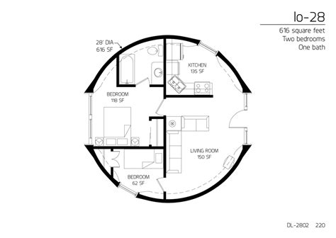 monolithic dome homes floor plans floor plan dl 2802 monolithic dome institute