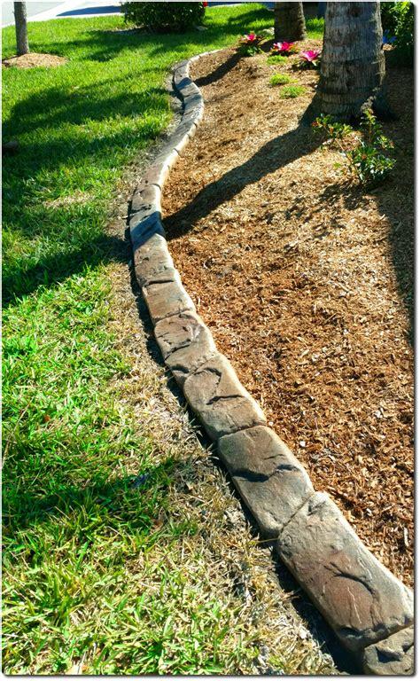 concrete landscape curbing decorative concrete curbing fort myers fl driveway