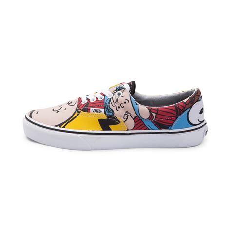 journey sneakers vans era peanuts skate shoe multi 497084