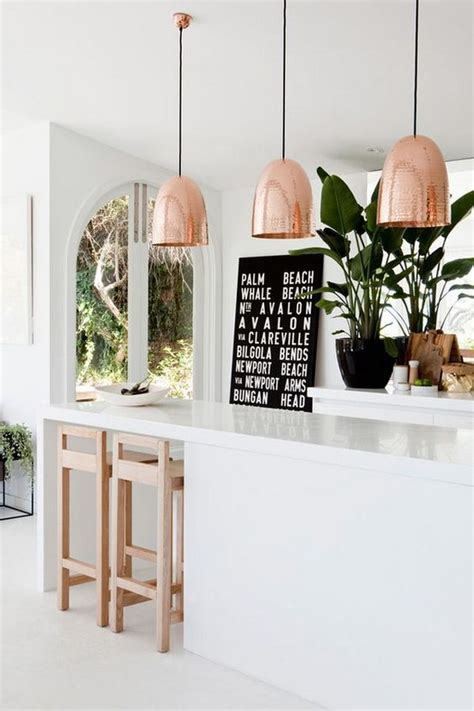 30 Awesome Kitchen Lighting Ideas 2017 Copper Pendant Lights Kitchen