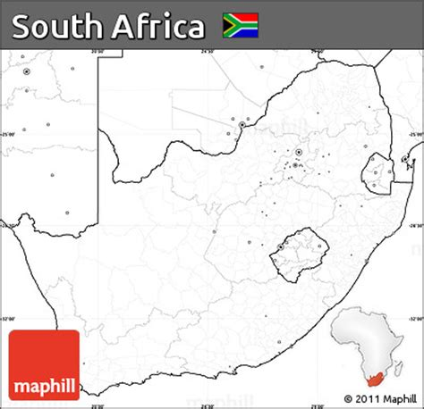 africa map no labels free blank simple map of south africa no labels