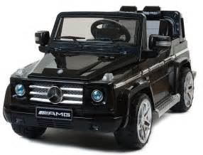 Mercades Jeep Black Mercedes Amg Electric Ride On Jeep