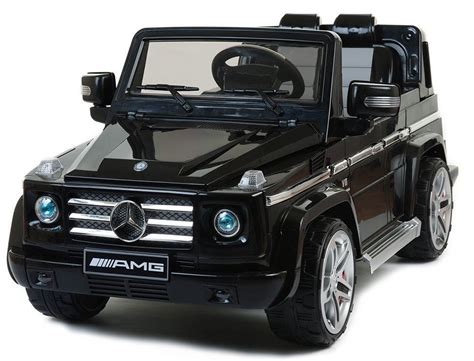 electric jeep black mercedes amg kids electric ride on jeep